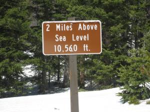 Altitude Sign